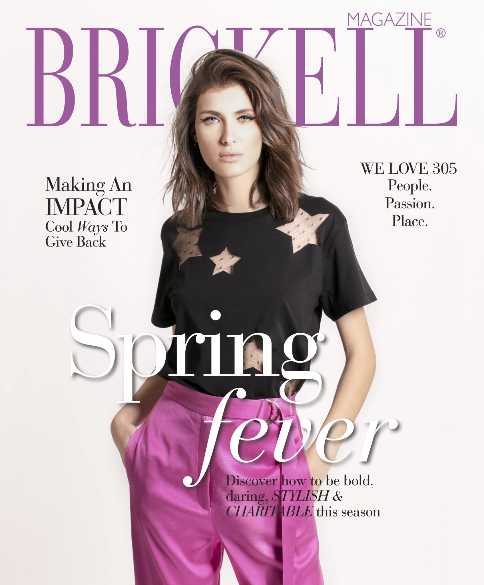 Cover Janet Patterson- April Brickell Magazine feature 2019